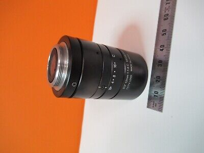 CCTV 12mm INSPECTION LENS MICROSCOPE OPTICS AS PICTURED &14-B-39