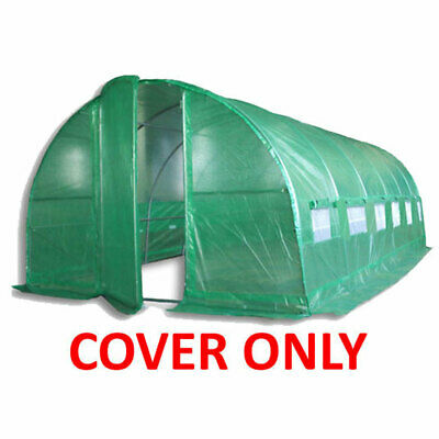 Replacement Cover; 3 Sizes For Our Polytunnel Greenhouse Pollytunnel Poly Tunnel