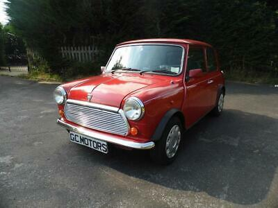 1996 Rover Mini 1.3 Mayfair Automatic Auto Flame Red Low Mileage Classic Cars