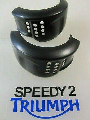 Triumph Bonneville T120 Air Intake Finishers Covers Black T2306123 T2306124