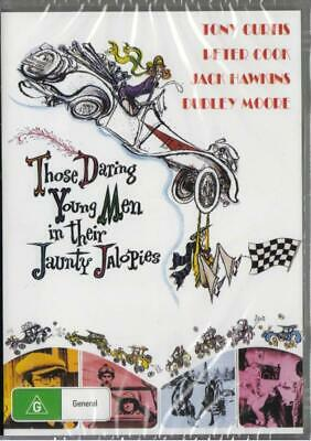 Those Daring Young Men In Their Jaunty Jalopies  - DVD - New & Sealed
