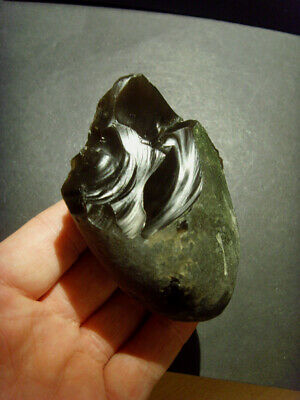 Paleolithic -  Exceptional atypical mousterian handaxe - c. 60,000BP