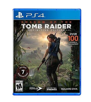 Shadow of The Tomb Raider: Definitive Edition PlayStation 4 PAL Version