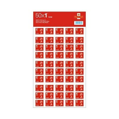 50 Large Letter 1st Class Stamps Royal Mail Free Delivery