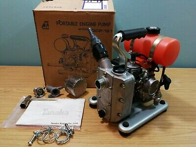 Tanaka Portable Engine Pump QCP-121 Unused Old Stock