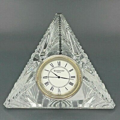 Waterford Crystal Times Square 2000 Millennium Star of Hope Pyramid Clock