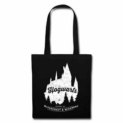9 3//4 Bag Black Stofftasche Harry Gleis Potter Hogwarts Dobledore Muggel Magic