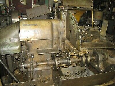 Brown & Sharpe 2-G Automatic Screw Machine, Many Extra Parts, Cams & Tooling