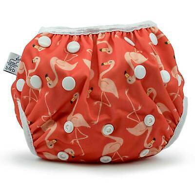 Flamingos Nageuret Girls Reusable Swim Diaper
