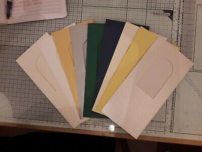 101 x 101mm and envelopes 2 x Large 3 Panel blank cards with square aperture