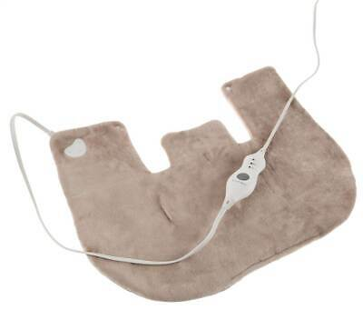 Electric Neck and Shoulder Warmer Heating Pad in Tan [ID 3846532]