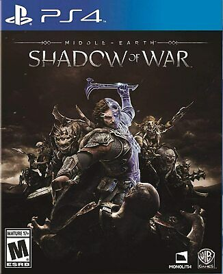 Middle Earth: Shadow of War PS4 Playstation 4 Brand New