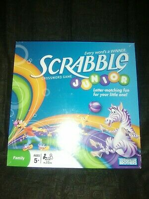 Parker Brothers Scrabble Junior Crossword Game - New Sealed - Free Shipping