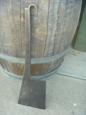 Rare Vintage Williams Smithfield Pipe Brand Butchers Cleaver Carcass Splitter