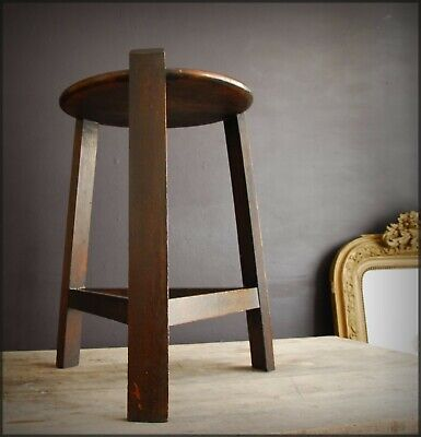 Superb Arts & Crafts Movement by LIBERTY LONDON Side Table or Stand in Dark Oak
