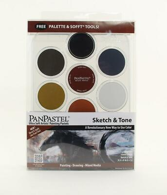 Ultra Soft Artists' Painting Pastels (Sketch & Tone) - Panpastel Free Shipping!