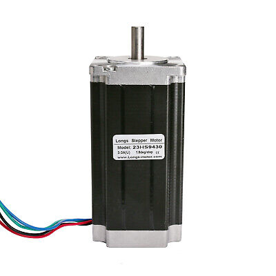 1pcs Nema 23 57BYGH single shaft stepper motor 425 oz.in 3.0A 112mm For CNC