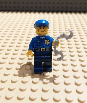 Lego City Traffic Cop With Speed Camera And Traffic Paddle Mini Figure Polybag