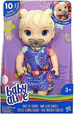 Baby Alive Lil Sounds Interactive Doll Set One Size