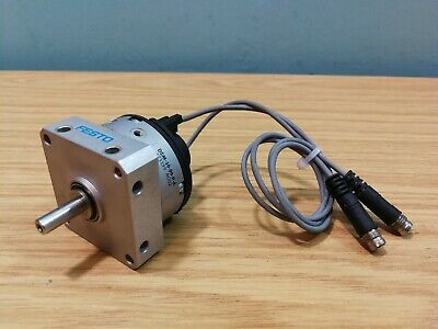 Festo 90 Deg. Air Pneumatic Semi Rotary Drive DSM-10-90-P-A With Switches