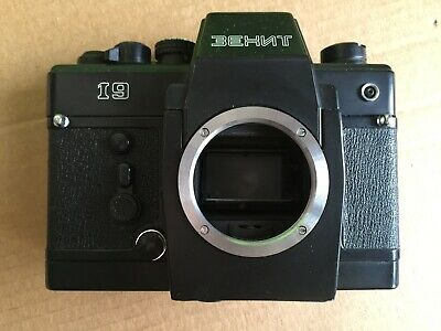 ZENIT-19 35mm film SLR camera BODY Pentax M42 lens mount KMZ 1982 Camera faulty