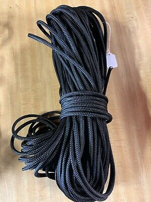 "1/4"" x 166 ft. MFP Utility/Anchor/Camping Rope. Black."