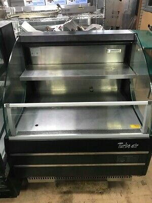 "Pre-Owned Turbo Air TOM40-LB 39"" W Horizontal Air Curtain Display Case-7.4 Cu.Ft"