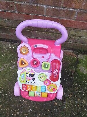 VTech Baby First Steps Baby Walker fully working