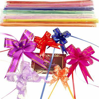 10x Multi Listing of Butterfly Pull Bows! 12 - 50mm PullBows Florist Craft XMas