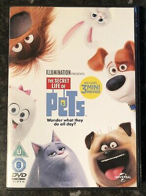 The Secret Life Of Pets Dvd  New & Sealed Mint Condition