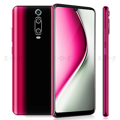 9T 6.3in 2 SIM Free Cheap Smartphone Unlocked Android 9.0 Mobile Phone Quad Core