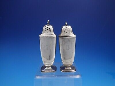 Mary Chilton by Towle Sterling Silver Salt & Pepper Shakers #8469 (#4091)
