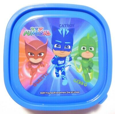 PJ Masks Sandwich Snack Box Container Small Owlette, Catboy and Gekko