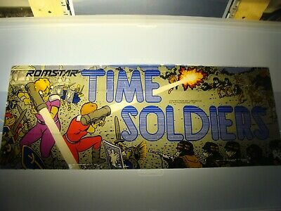 Time Soldiers Video Arcade Game Marquee, Atlanta #208