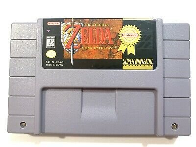 The Legend of Zelda: A Link to the Past Super Nintendo SNES Game - Authentic!