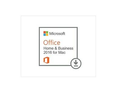Microsoft Office  Home and Business 2016 for MAC   Lifetime   Multi Languages