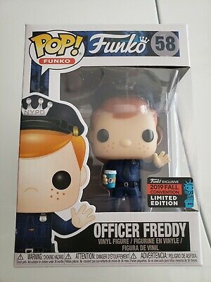 Funko Pop NYPD Police Freddy 2019 NYCC Shared Exclusive New