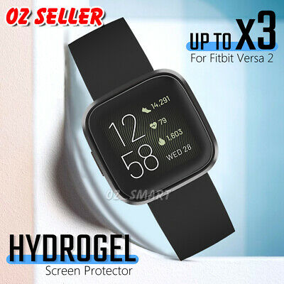 For Fitbit Versa 2 Ultra Clear HYDROGEL Full Coverage Screen Protector Guard