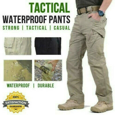 Soldier Tactical Waterproof Pants Men Cargo Pants Combat Hiking Outdoor Pant