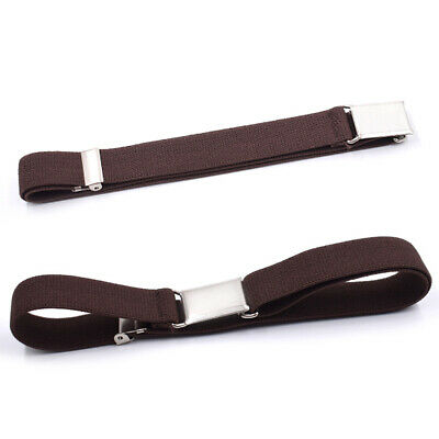 Kids Boys Girls Belt Adjustable Solid With Buckle Waistband Stretch All Match