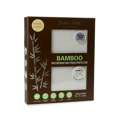 Bubba Blue Bamboo Waterproof Mattress Protector - Moses Basket Free Shipping!