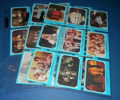 1976 Scanlens ABBA x 31 Blue Cards (Excellent to Mint Condition)
