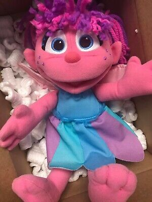 Abby Cadabby Plush Doll Sesame Street Stuffed Animal Toy W