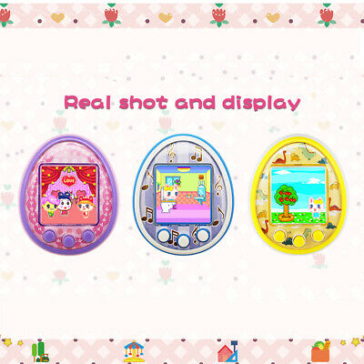Tamagotchi Cartoon Electronic Pet Game Handheld Virtual Pet Kids Toy Gift P3U4