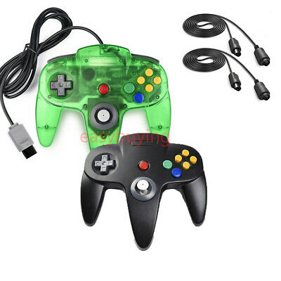 Wired Joypad N64 Controller Gamepad Joystick for Nintendo 64 Video Game Console