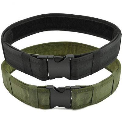 Tactical Belt - Mens Quick Release Military Nylon Belt with Heavy Duty Buckle