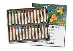 Sennelier Oil Pastels Cardboard Box Set of 24 Standard - Landscape Colors