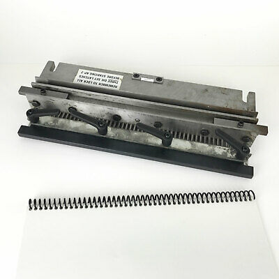 Second-hand Used GBC AP2 Coil / Spiral Round-Hole Punch Tool Die