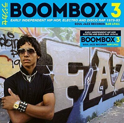 Soul Jazz Records - BOOMBOX 3: Early Independent Hip Hop, Electro And [CD]