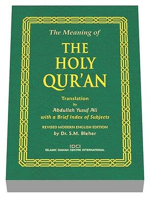 The Meaning of the Holy Quran - New Modern English Edition (14x19cm) x 100